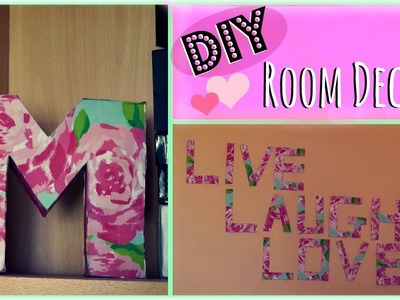 DIY: 2 Easy Room Decor Ideas! ♡