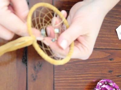 DIY Dreamcatcher Tutorial - The Weaving Process