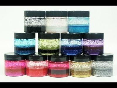 DIY Glitter Paint