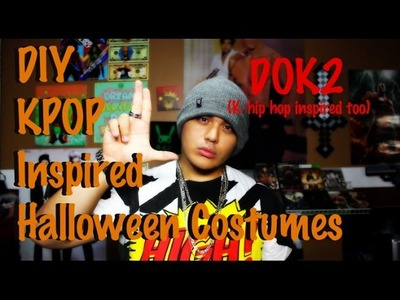 DIY KPOP INSPIRED HALLOWEEN COSTUMES w.JRE