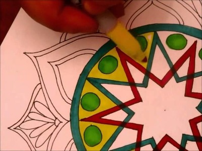 DIY: Mandala (Tracing Paper Method)