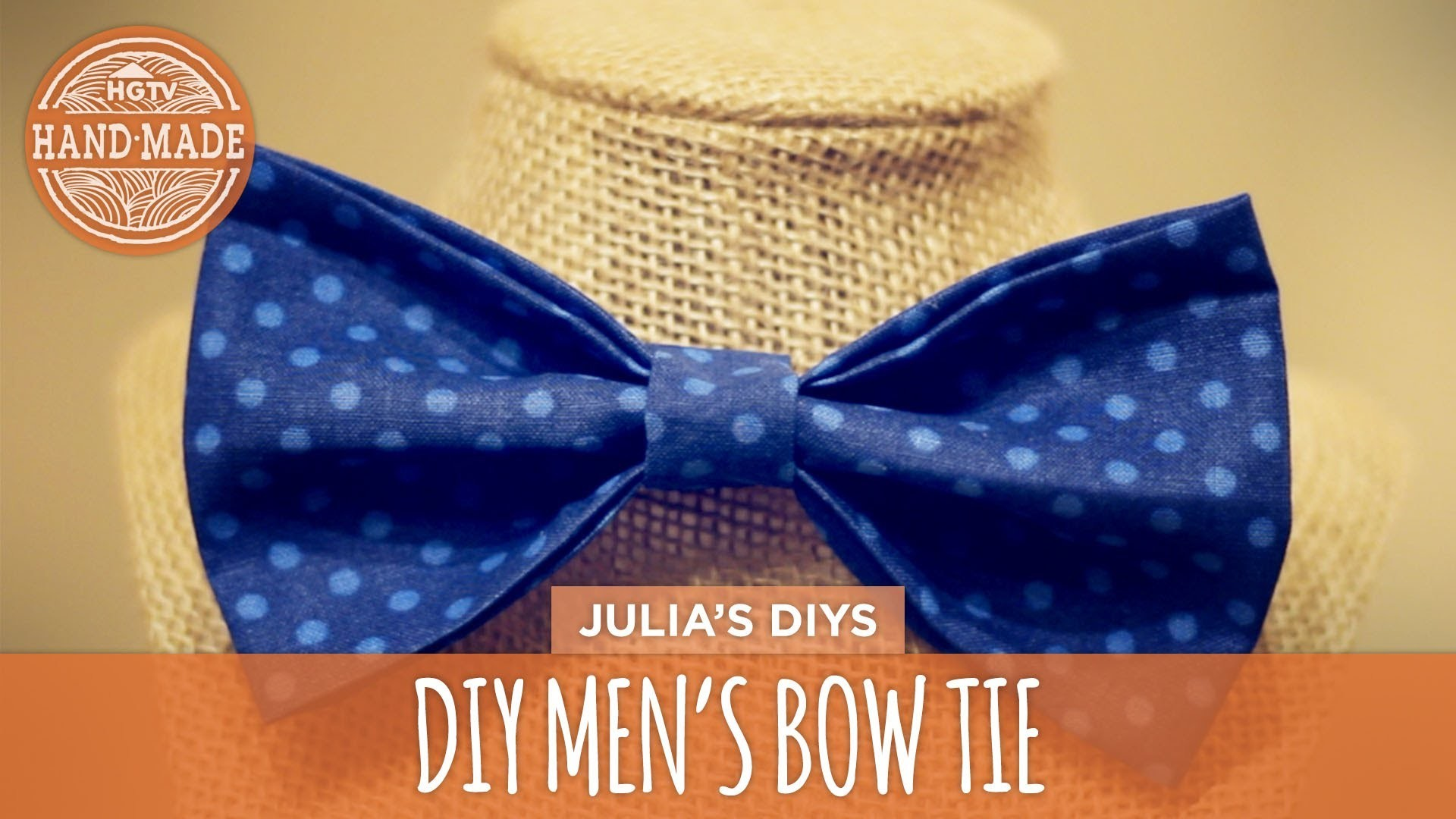 DIY Men's Bow Tie - HGTV Handmade