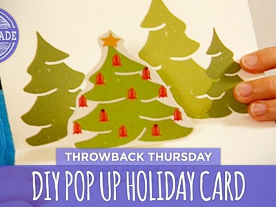 DIY Pop-Up Holiday Card - Throwback Thursday - HGTV Handmade
