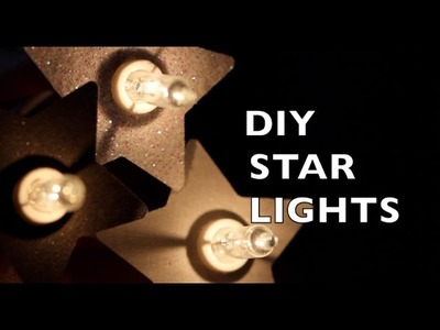 DIY Room Decor Ideas - Star Lights