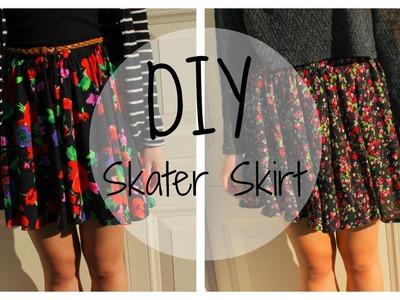 DIY Skater Skirt (SIMPLE INSTRUCTIONS)