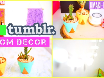 DIY Tumblr Room Decor | #MAKEITINMAY 2015