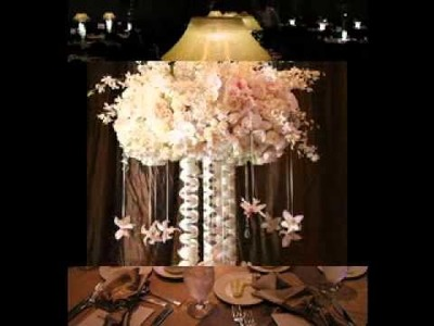 DIY Wedding reception centerpieces decorating ideas