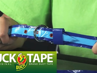 Duck Tape Craft Ideas: How to Make a Belt