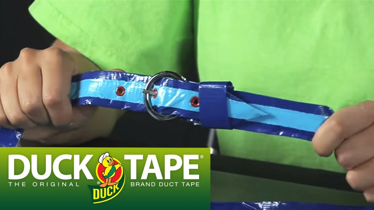 Duck Tape Craft Ideas: How to Make a Belt