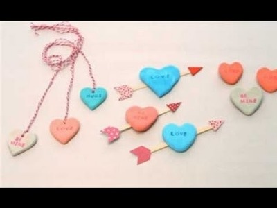 Easy Valentine's Day Craft - Clay Play Hearts