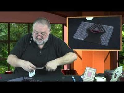Flip and Fold Diamond Shape Card Template Craft Download
