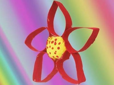How make a TP tube flower - EP