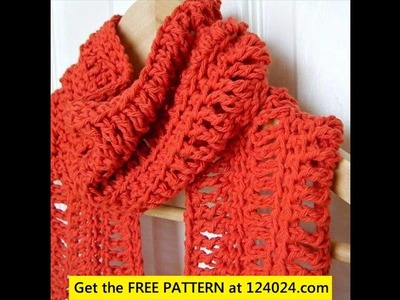 How to crochet an infinity scarf on a loom