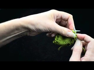 How to Knit Increases Part 1 M1 M1P   k1p1 TV