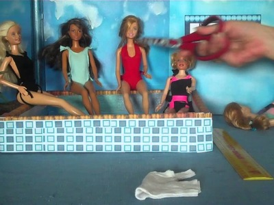 How to make a Bathing Suit for dolls