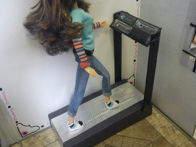 How To Make a Doll Treadmill