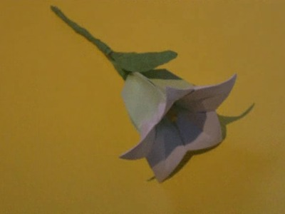 How to Make an Origami Balloon Flower