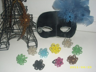How to make Beaded Flower Rings Part 1
