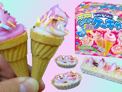 Kracie Popin' Cookin' Ice Cream Candy Making DIY Set! Safe to Eat Delicious Candy!