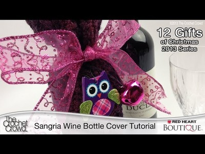 Learn How to Crochet A Wine Bottle Cover
