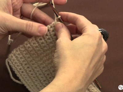 Learn to Crochet: the single crochet