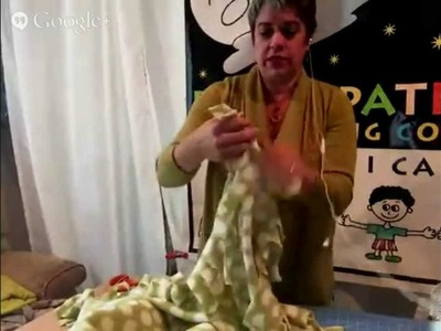Learn to make an EASY blanket for kids in need