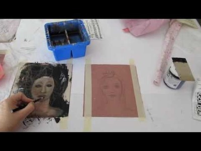 Playing with Rosin Paper - Part 1 - by Zorana