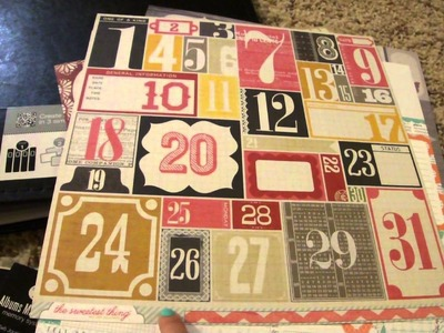 Scrapbook Project 2013 & LSS Haul