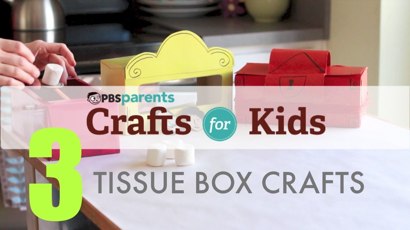 Tissue Box Projects: 3 Crafts, 1 Material | Crafts for Kids | PBS Parents