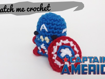 Watch me Crochet: Captain America