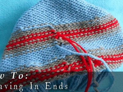 Weaving In Ends | Working Stripes