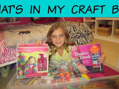 WHAT'S IN MY CRAFT BIN?