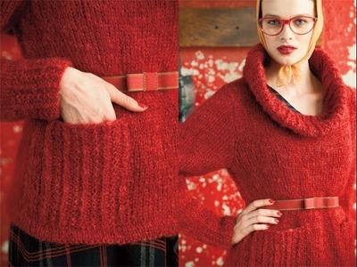 #30 Ski Sweater, Vogue Knitting Winter 2010.11