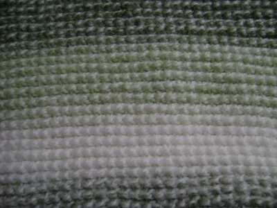 Crochet - Afghan or Tunisian Crochet Purl Stitch