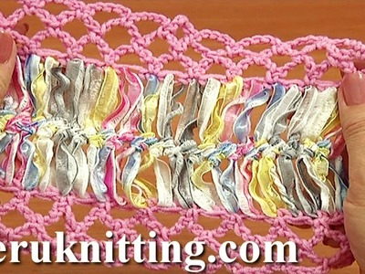 Crochet Mesh On Basic Strip Tutorial 33 Hairpin Crochet