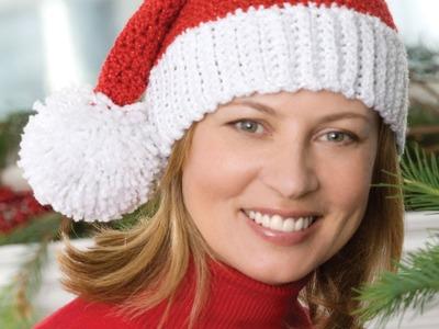 #Crochet Santa Hat  - Video 2