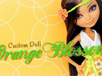 Custom Doll: Strawberry Shortcake Orange Blossom - Doll Crafts