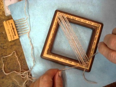Diagonal Multi pin loom