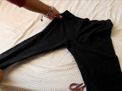 "DIY: ""3 ways to use old nylons"" w. Sassy"