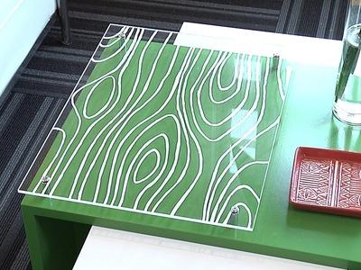 DIY Acrylic Coffee Table