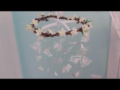 DIY Butterfly Nursery Mobile