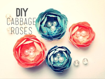 *DIY Cabbage Rose Flower Tutorial*