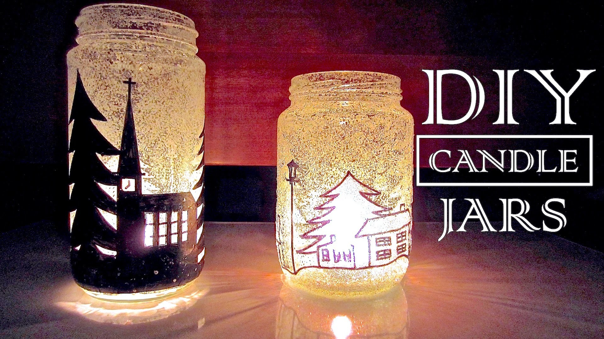 DIY Candle Holders | DIY Christmas Decor