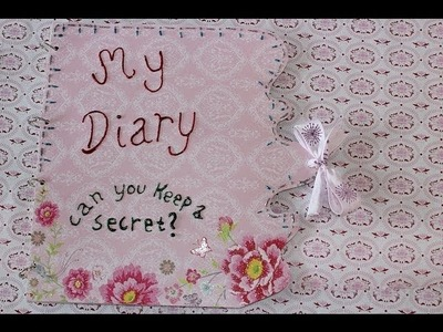 DIY Diary or book