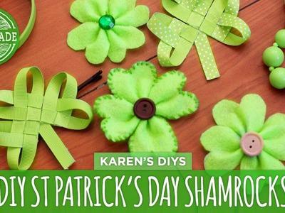 DIY Easy St. Patrick's Day Shamrocks - HGTV Handmade