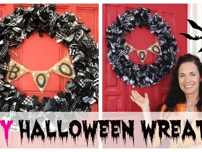 DIY Halloween Wreath Tutorial | by Michele Baratta