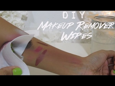 DIY Makeup Remover Wipes | SugarStilettosStyle