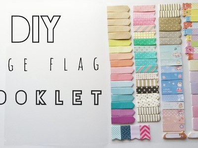 DIY PAGE FLAG BOOKLET.FOLDER