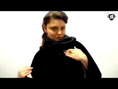 DIY Velvet Cloak