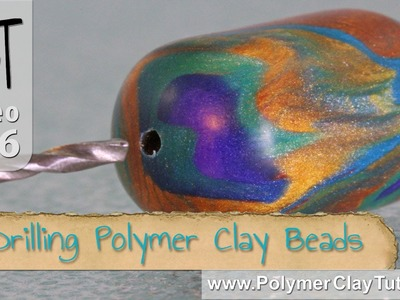 Drilling Polymer Clay Beads